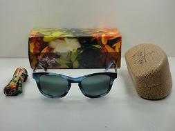 Maui Jim Unisex Ka'a Point Blue/Neutral Grey Sunglasses