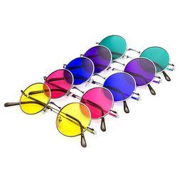 John Lennon  Vintage Retro Classic Circle Round Sunglasses M