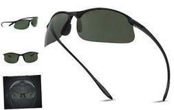 JULI Polarized Sports Sunglasses for Men Women Tr90 Unbreaka