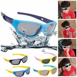 Kids Children Sunglasses Polarized Sport Goggles Shades UV10