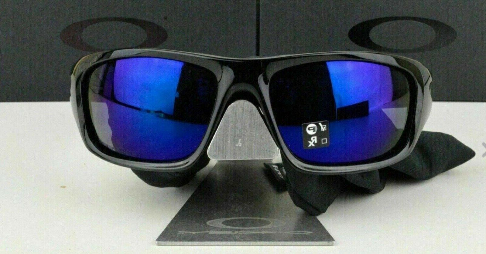 100% Authentic NEW Oakley Valve Sports Blue Iridium