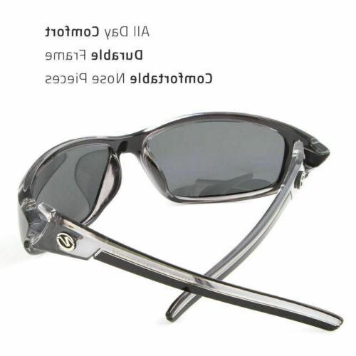 2 Pair POLARIZED Mens Anti Glare Driving Sport Sunglasses