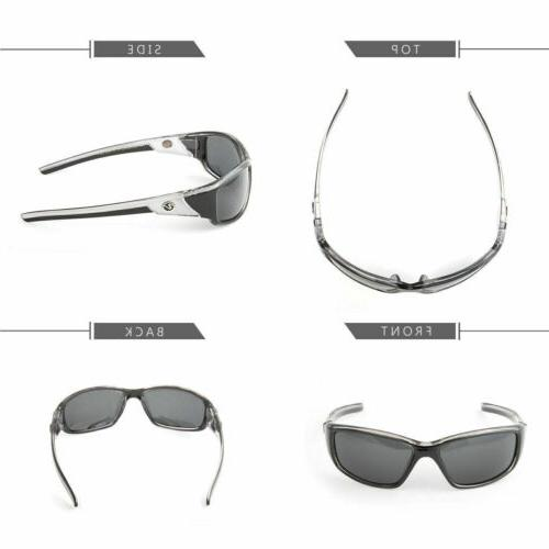 2 Pair POLARIZED Nitrogen Mens Anti Fishing Driving Sport Sunglasses