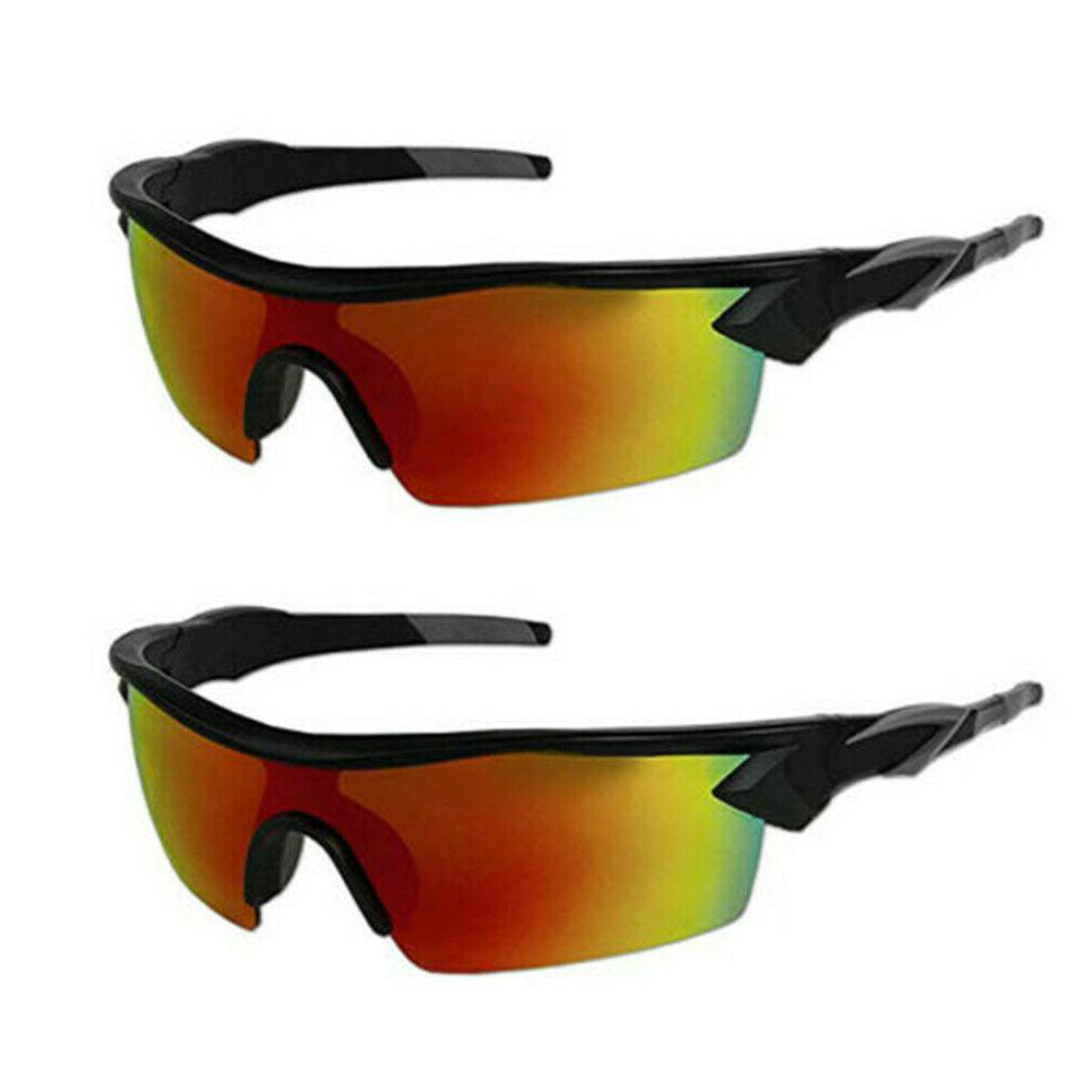 2 Pairs HD Polarized Clear As Unisex
