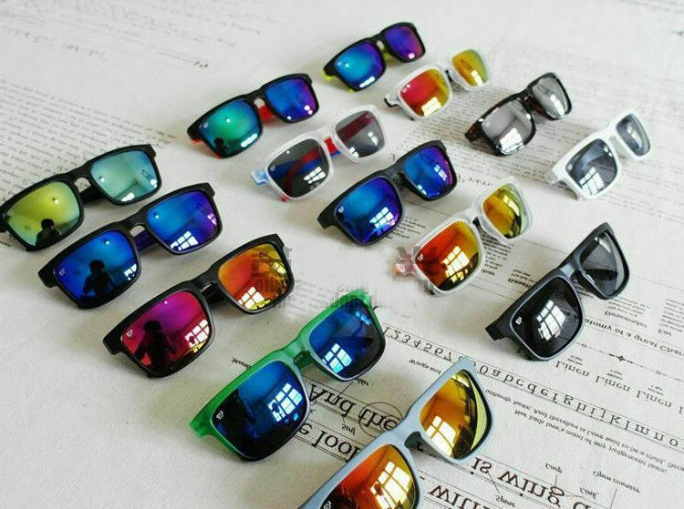 2019 SPY Polarized Sunglasses Unisex Helm Block Eyewear