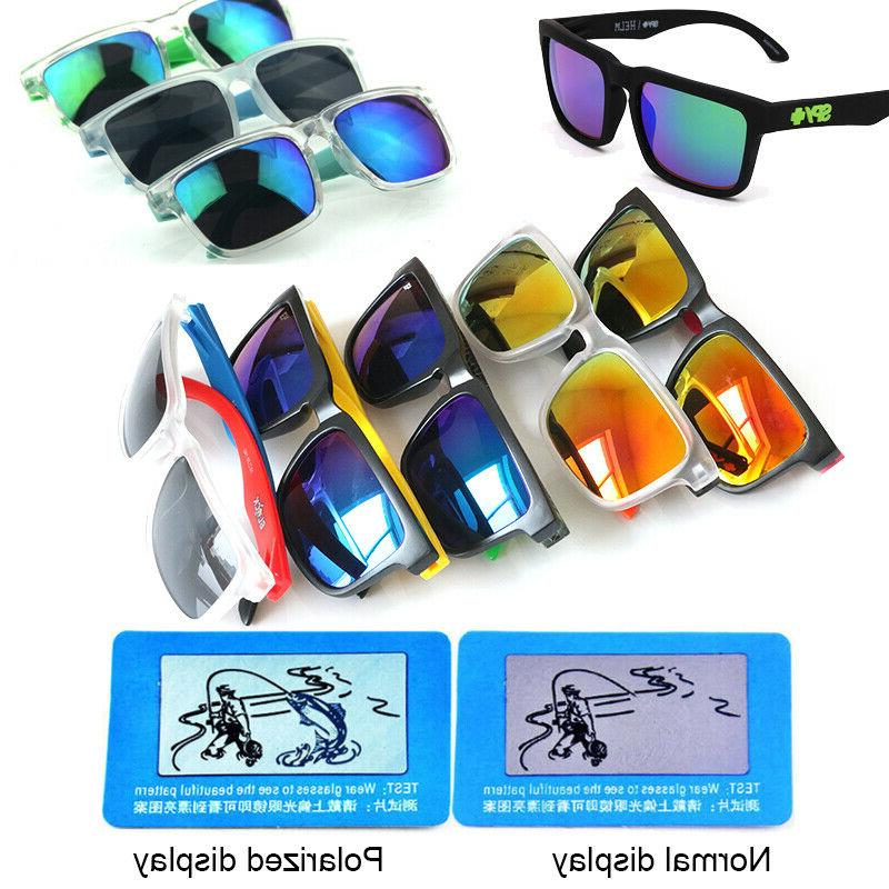 2019 Men's Polarized Sunglasses Driving Glasses Helm Block Eyewear