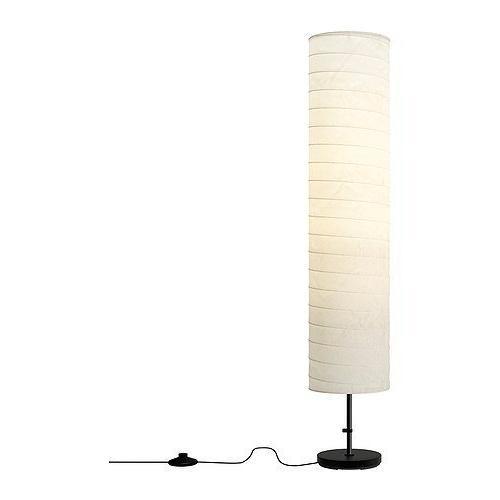 2 X Ikea 301.841.73 Holmo 46-Inch Floor Lamp White