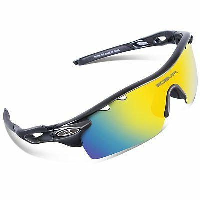 RIVBOS 801 TR 90 Polarized Sports Sunglasses Sun Glasses wit