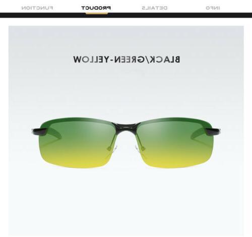 Day Night Polarized Sunglasses Sun Men