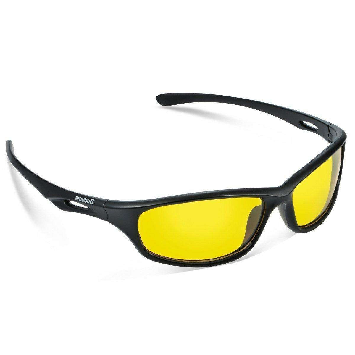 Duduma Yellow Night Vision Polarized Sunglasses Glasses for