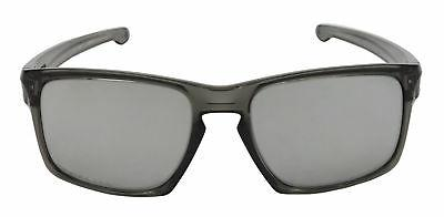 Oakley Sliver Sunglasses OO9262-13 Grey Smoke | Chrome Iridi