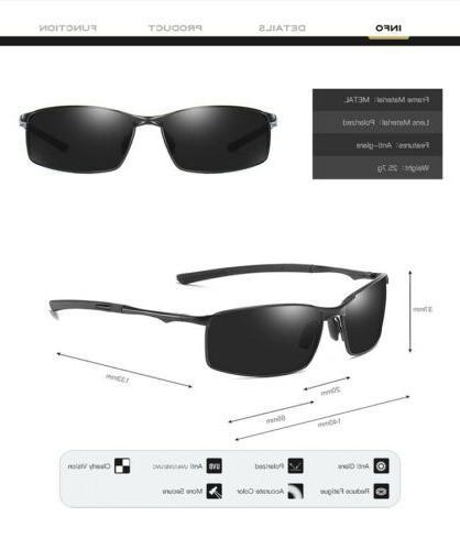 Aluminium HD Sunglasses Men Sun Glasses