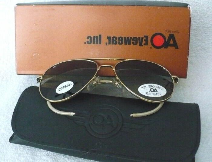 ao american optical eyewear polarized general aviator