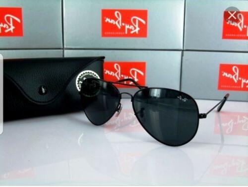 ray ban aviator black lens