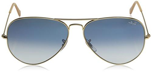 Ray-Ban - GOLD Frame CRYSTAL GRADIENT Lenses 58mm