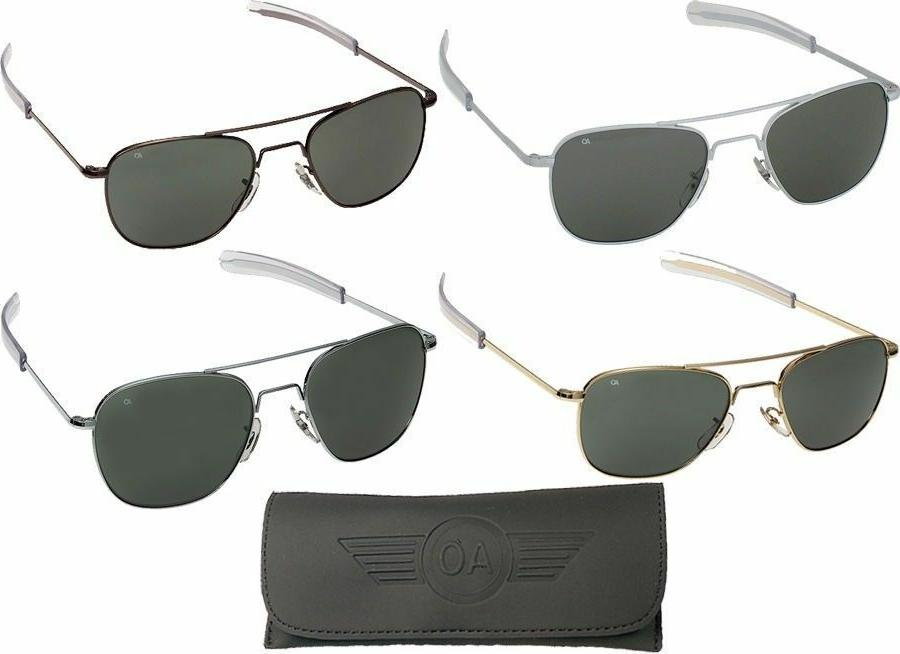 aviator sunglasses air force style grey lenses