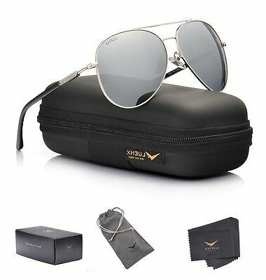 aviator sunglasses polarized mirror