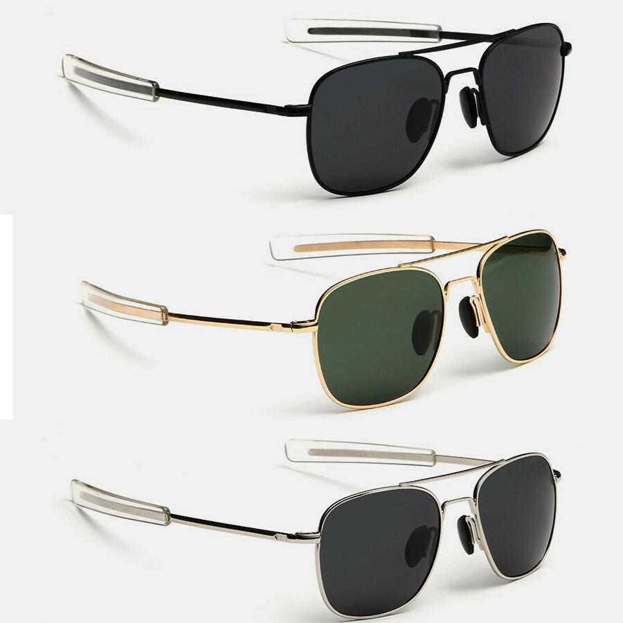aviator sunglasses premium military pilot ultraviolet mens