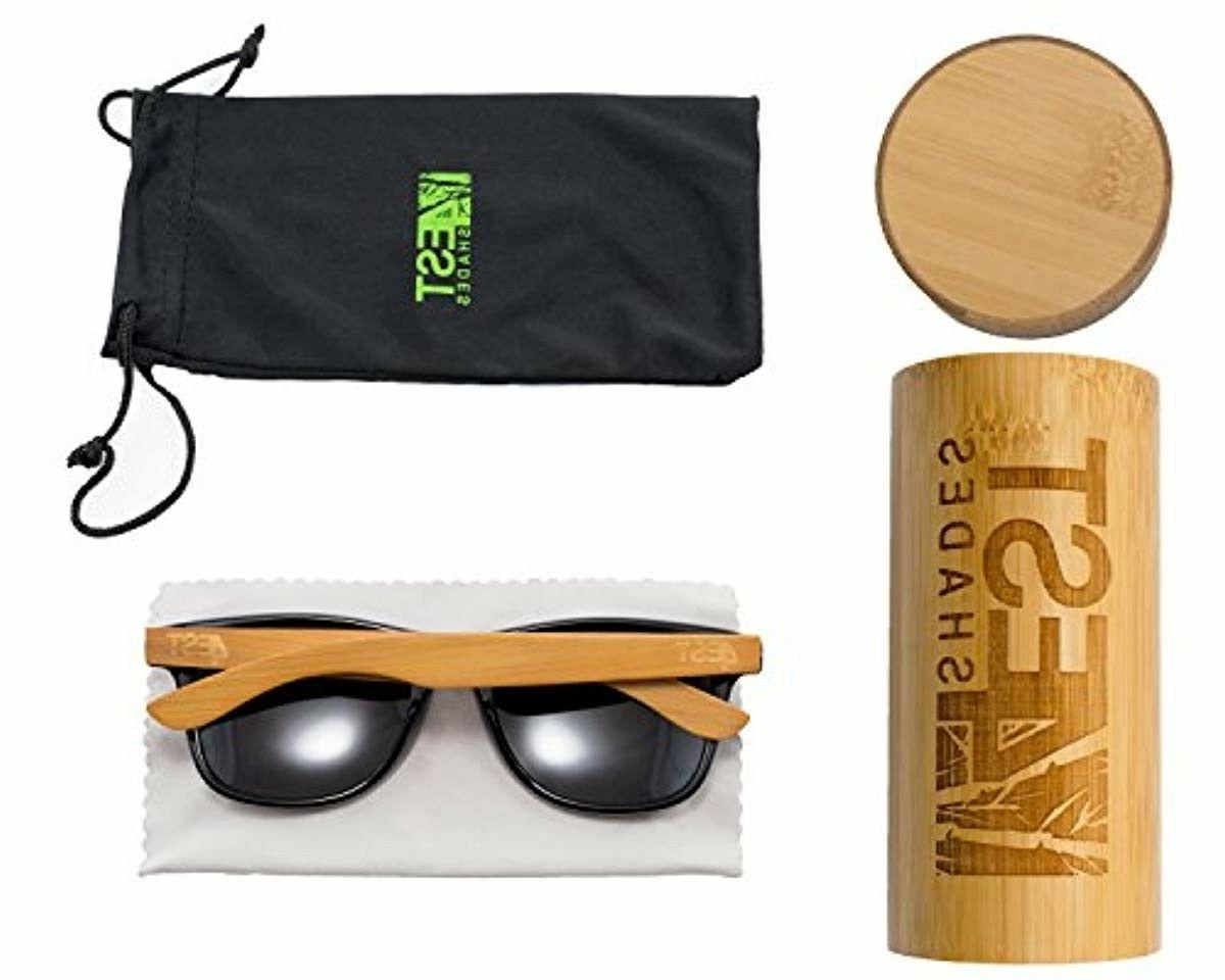 Bamboo Sunglasses Polarized Shades