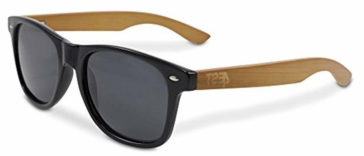 bamboo sunglasses 100 percent polarized wood shades