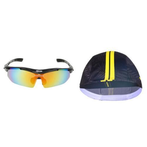 bike cap sunscreen headwear and polarized sunglass