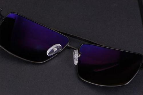 Black Polarized Glasses Sports Driving