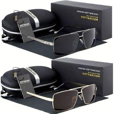 Black Glasses Outdoor Driving Sunglasses
