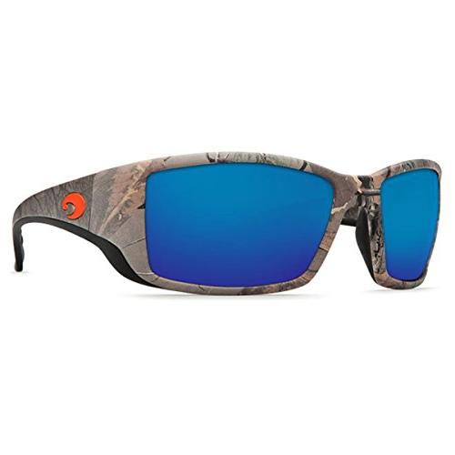 Costa Del Sunglasses, Camo, Blue Mirror Lens