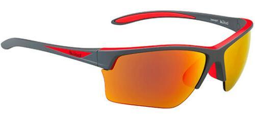 Bole Flash Polarized Men's Sunglasses w/ Red Mirror Lens 122