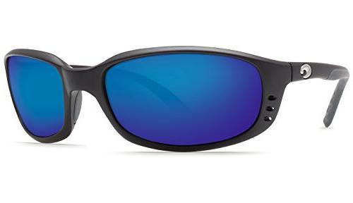 Costa Del Mar Brine Sunglasses - Black Frame - Blue Mirror C