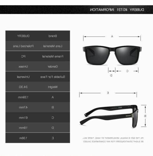 Classic Polarized Sunglasses Mens Golfing Driving
