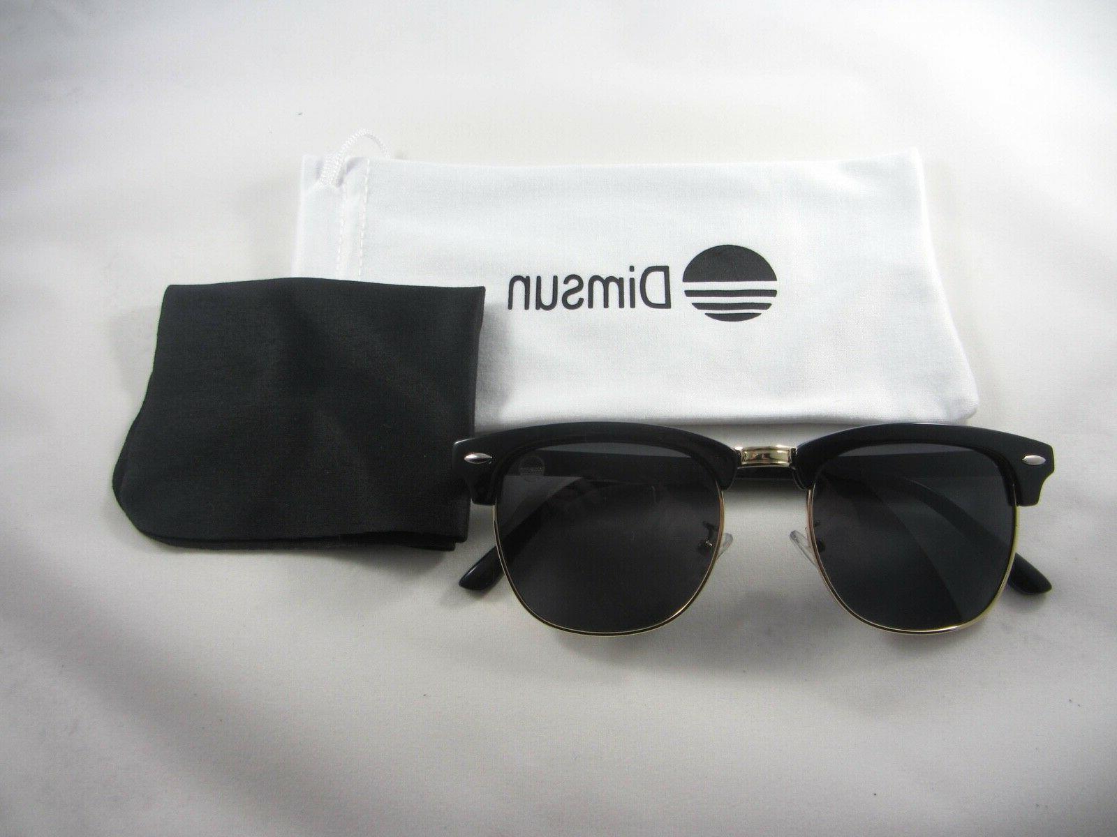 classic eyewear polarized black gold premium sunglasses
