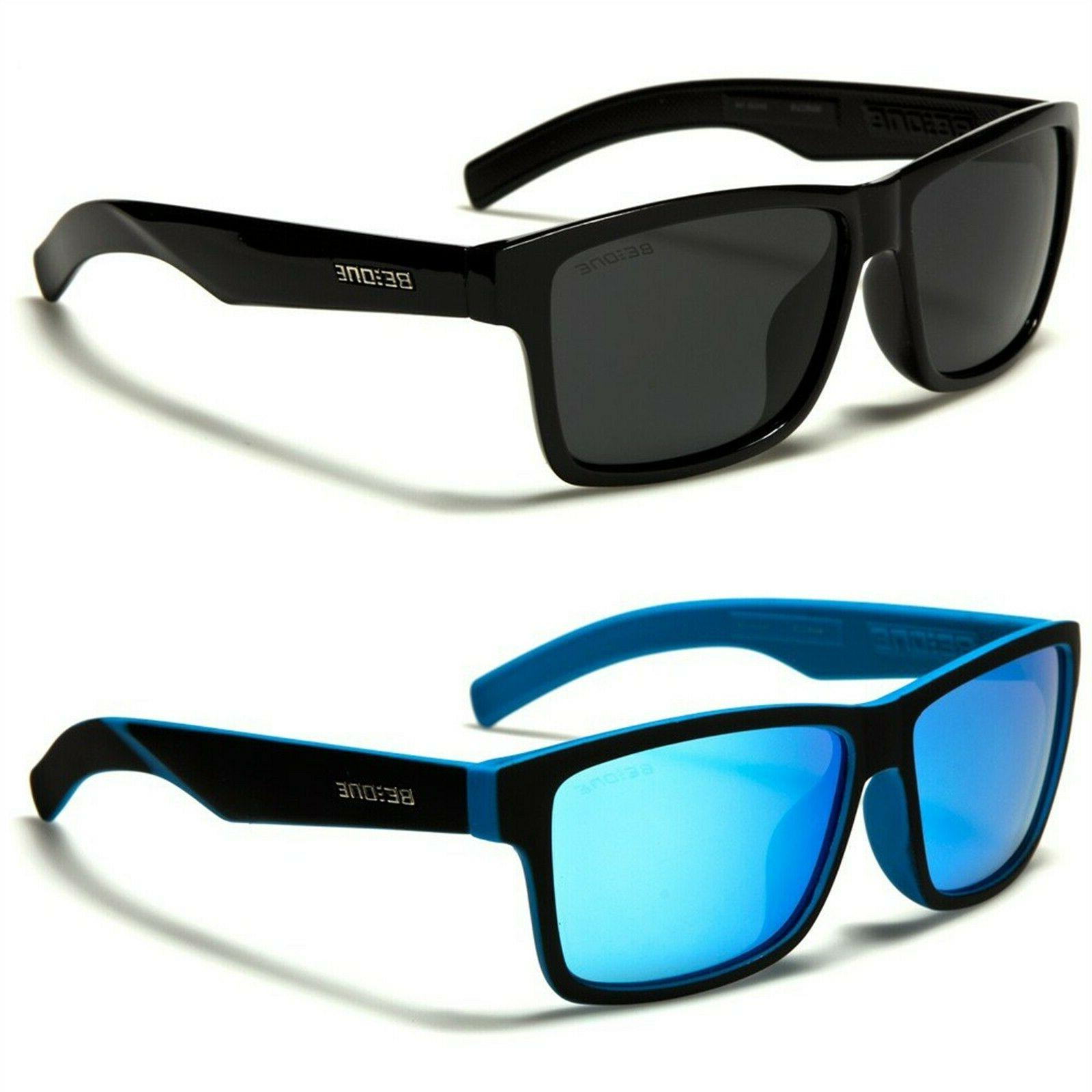 classic polarized rectangle men s fashion sunglasses