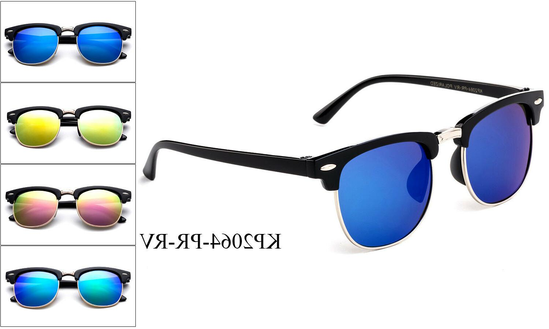 Colorful Classic Polarized Kids Sunglasses Boys Girls Childr