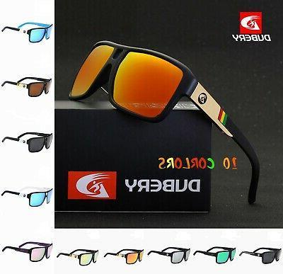 dubery men s polarized sunglasses outdoor driving