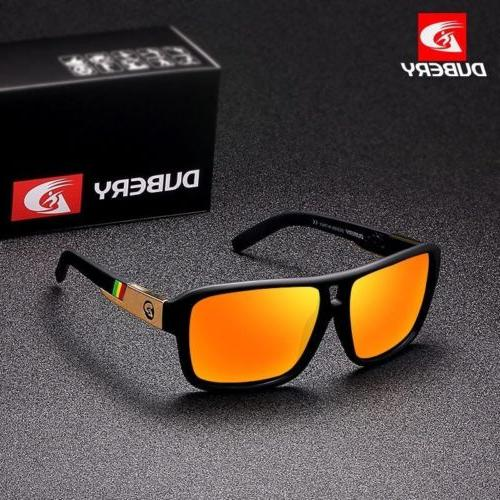 dubery polarized sunglasses men sports running fishing