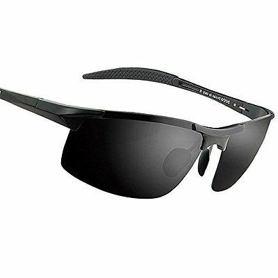 Duco Men's Sports Style Polarized Sunglasses Driver Glasses