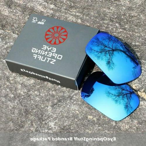 E.O.S Replacement Lenses for Half Jacket 2.0 OO9144 Sunglass -