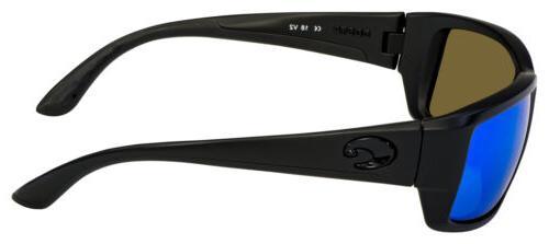 Costa Del Mar Sunglasses TF-01-EBMGLP Blkout| Mirror 580G Polarized