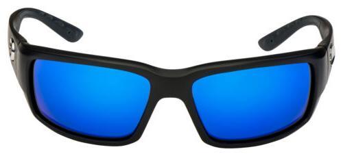 Costa Sunglasses TF-11-EBMGLP Black Blue Polarized