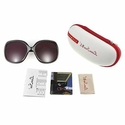 Liansan Fashion Simple Oversized Women's Sunglasses