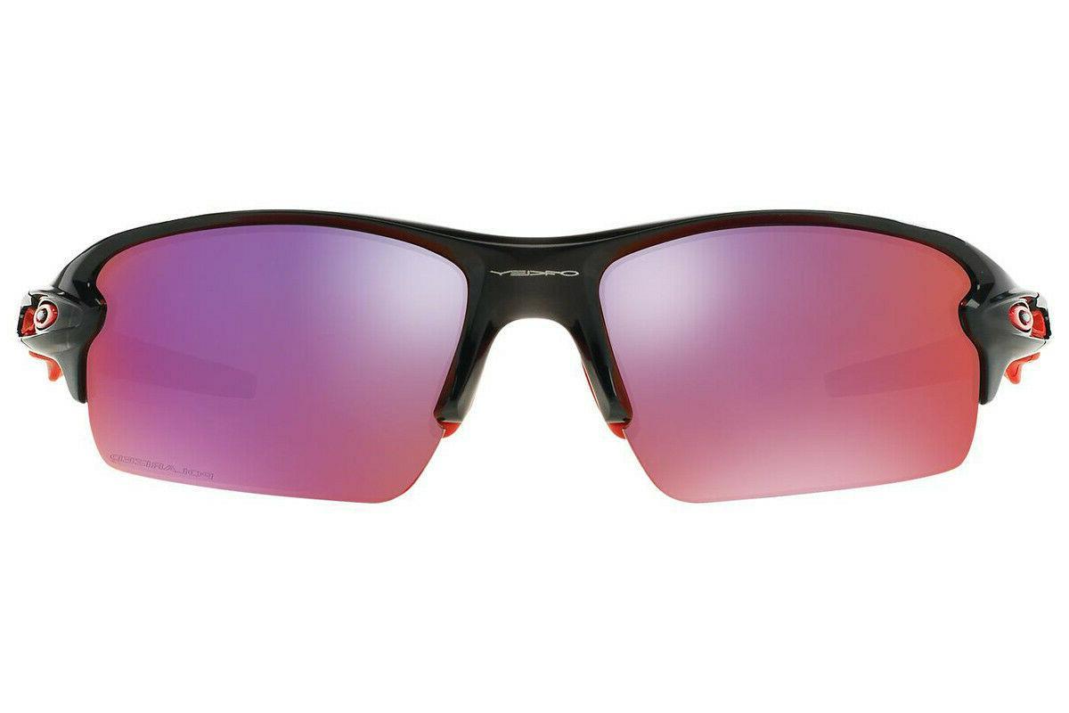 Oakley Flak 2.0 Sunglasses Black W/ Red Lens