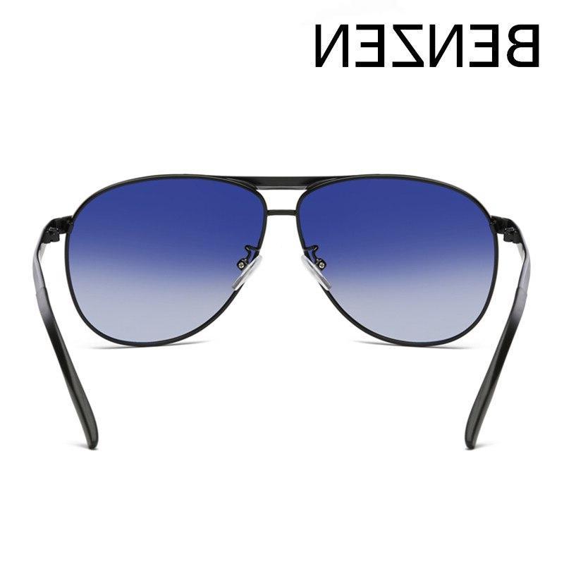 BENZEN <font><b>Polarized</b></font> Metal Frame Glasses Driver Shades