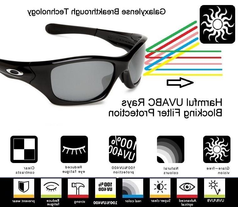 Galaxy Lenses For Oakley Jacket 2.0 Sunglasses