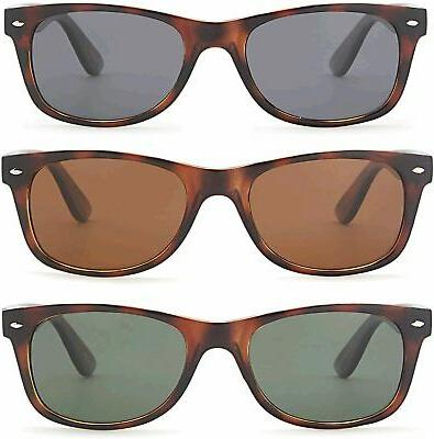 Gamma, 3 Pairs - 55 Eye Frame Mixed Lens Colors, Size