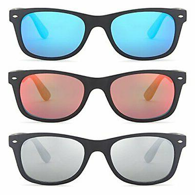 Gamma Ray Polarized Sunglasses Men and Women Pack