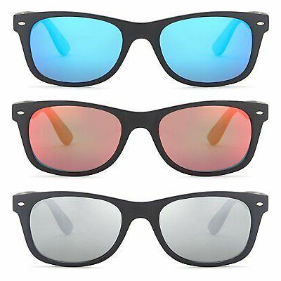 GAMMA RAY Classic Style Sunglasses with Mirror PACK New