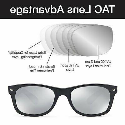 GAMMA RAY Classic Style Mirror Lens 3 New