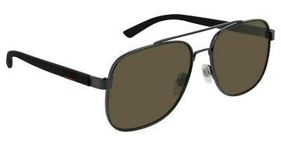 GUCCI Ruthenium mm Men's Sunglasses