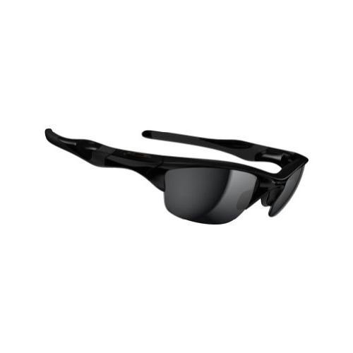 Oakley Men's Half Jacket 2.0 Rectangular Sunglasses, Black I